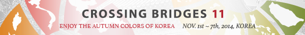 Banner for Crossing Bridges 11 Korea