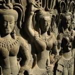 angkor aspsara statues